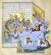 Iran / Persia: Faridun, in the guise of a dragon, tests his sons, Shahnameh, 1525�1535